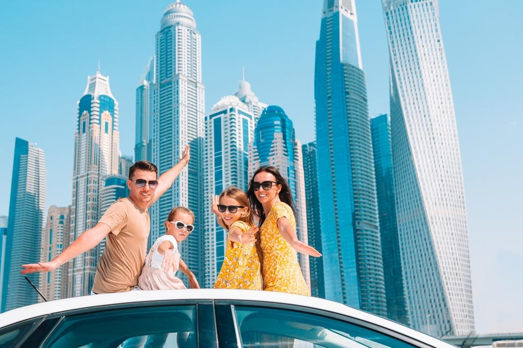 Family vacation Road trip