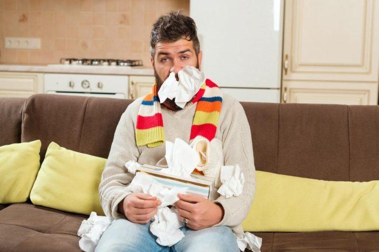 get sick easily